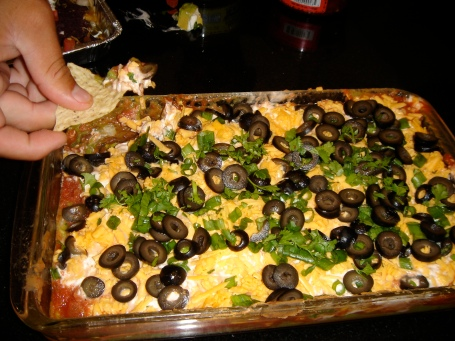 Recipe: Vegetarian 7-layer dip